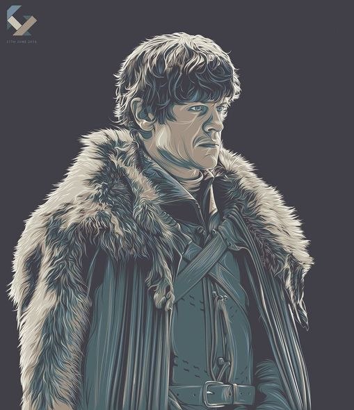 Game of Thrones (GOT) example #203: Game of Thrones Portraits - Created by Jireh Ber Villafuerte