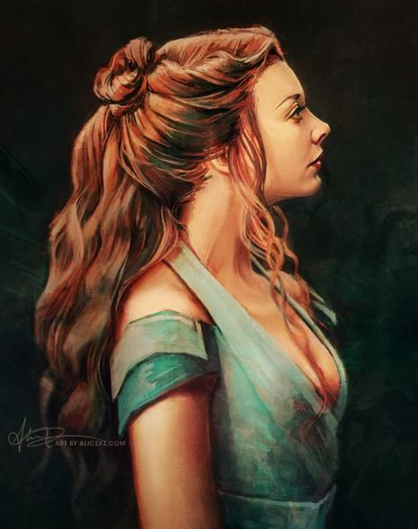 Game of Thrones (GOT) example #191: Alice X. Zhang - Queen margaery from Game of Thrones
