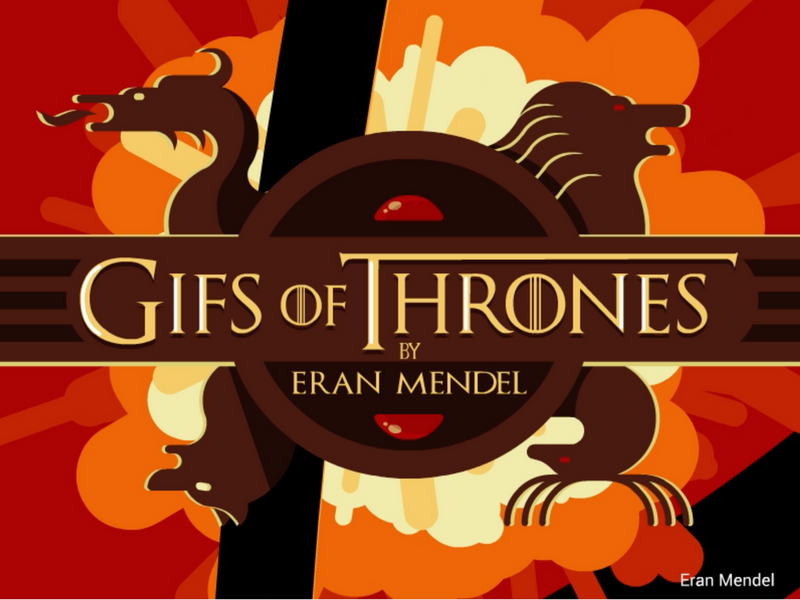 Game of Thrones (GOT) example #260: GIFs of thrones
