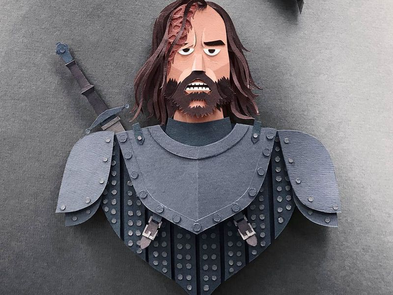 Game of Thrones (GOT) example #140: Game of Thrones Papercuts
