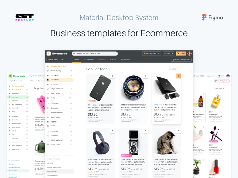 Figma Desktop Templates For Material Design | Search by Muzli
